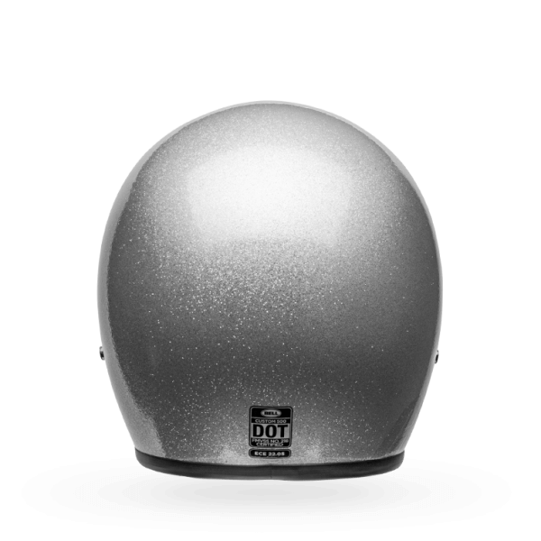 BELL Custom 500 Helmet ECE Gloss Silver Flake