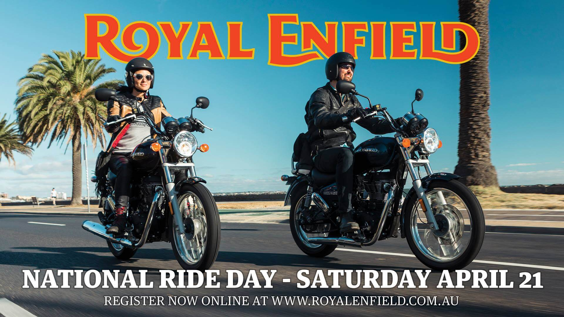 Royal Enfield National Test Ride Day - 21 April 2018