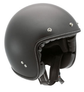 AGV RP60 Open Face Royal Flat Black Helmet