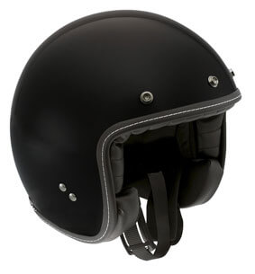 AGV RP60 Open Face Gloss Black Helmet