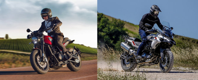 3.99% Low Rate Finance Offer - Benelli TRK502 and Leoncino Range