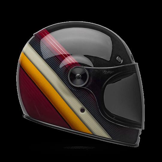 BELL Bullitt Helmet Burnout Black White Maroon