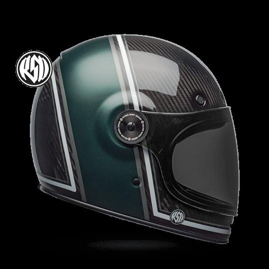 BELL Bullitt Helmet Carbon RSD Black Green