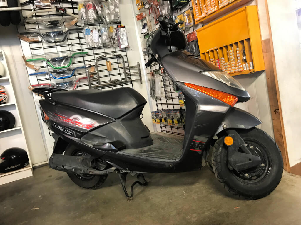 Used Honda Lead 100cc Scooter – $1,790 Rideaway
