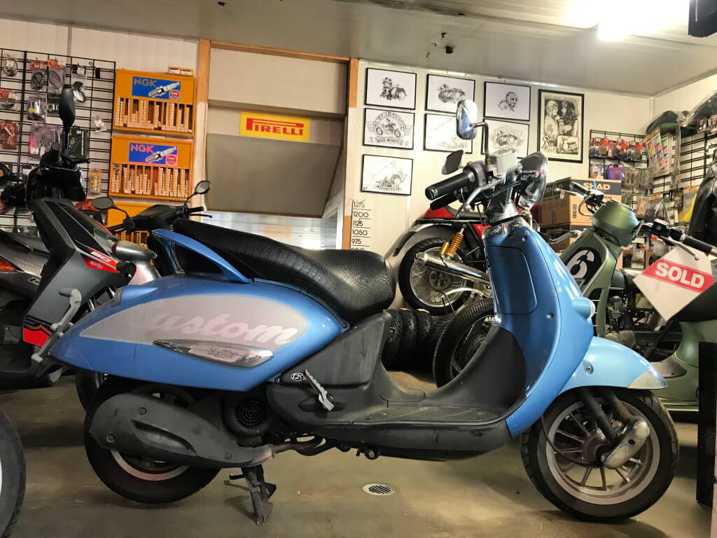 Used Aprilia Mojito 125cc Scooter – $990 As Is Where Is