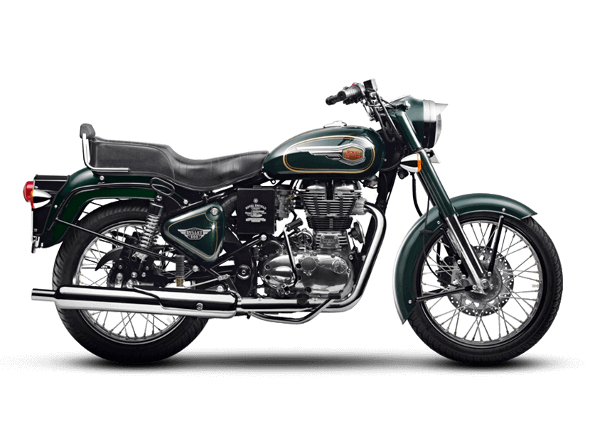 Royal Enfield Bullet 500 Black Forest Green