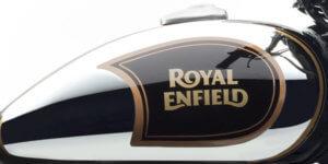 Royal Enfield Classic 500 Chrome Black Tank