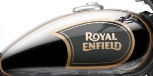Royal Enfield Classic 500 Chrome Graphite Tank