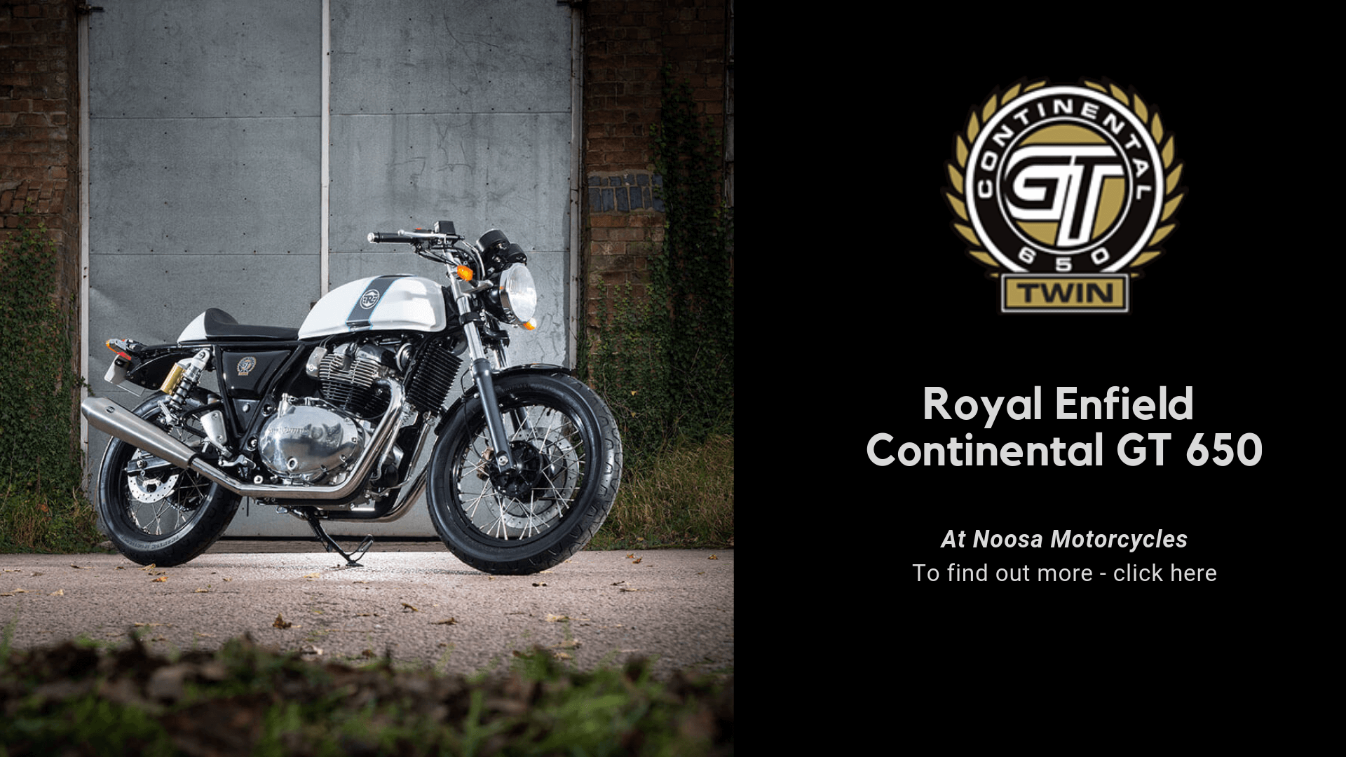 Royal Enfield Continental GT Slider