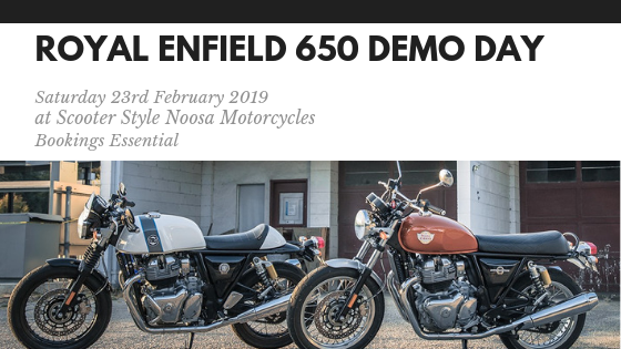 Royal Enfield 650 Twins Ride Day