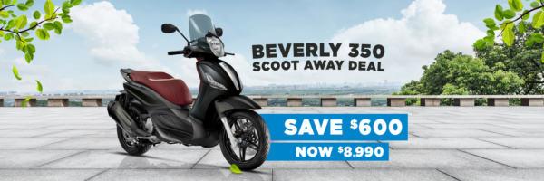Save $600 on the Piaggio BV 350 E4