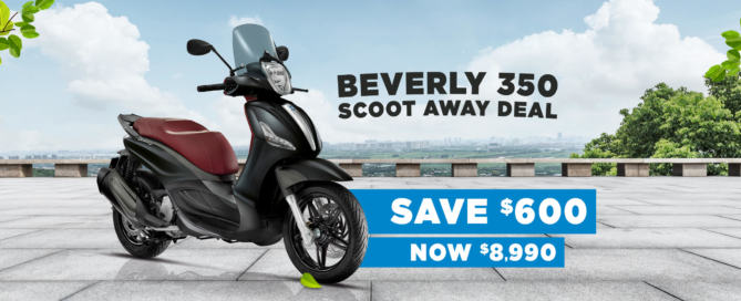 Save $600 on the Piaggio BV 350 E4