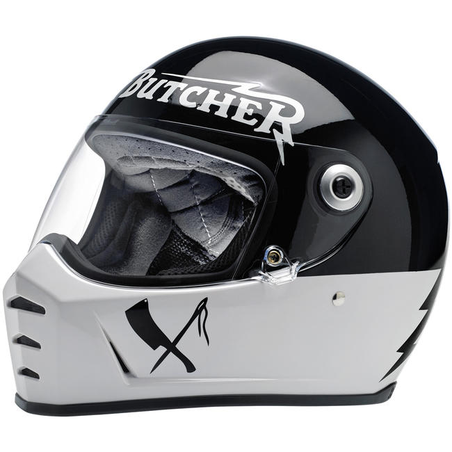 Biltwell Lane Splitter ECE Helmet Rusty Butcher