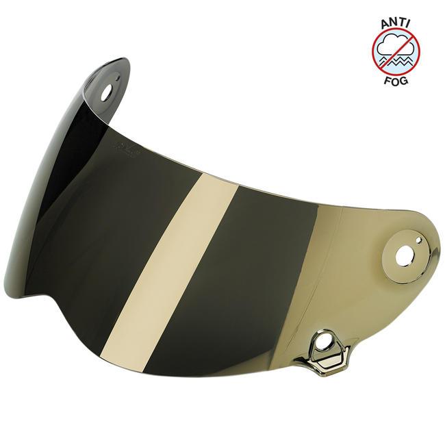 Biltwell Lane Splitter Visor Gold Mirror