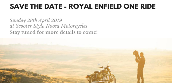 Save the Date - Royal Enfield One Ride