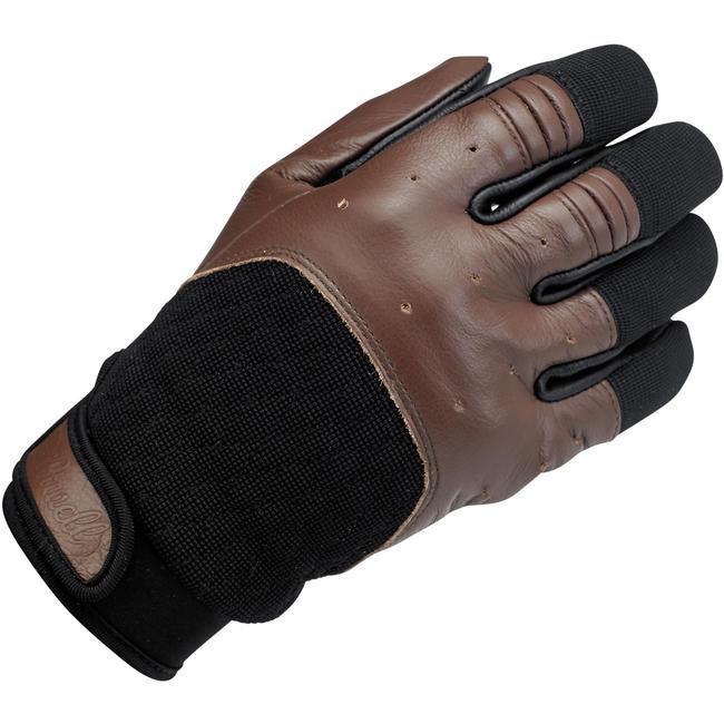 Biltwell Bantam Glove Chocolate Black