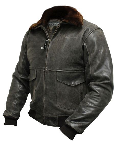 Rjays Bomber Antique Leather Jacket