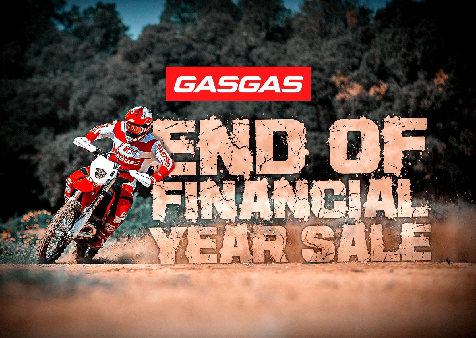 Gas Gas 2019 EOFY Offer - 3.99% Low Rate Finance