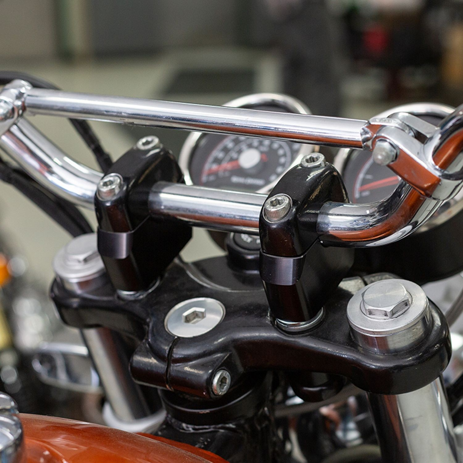 S&S Handlebar Adjuster Kit for Royal Enfield INT 650 Twins