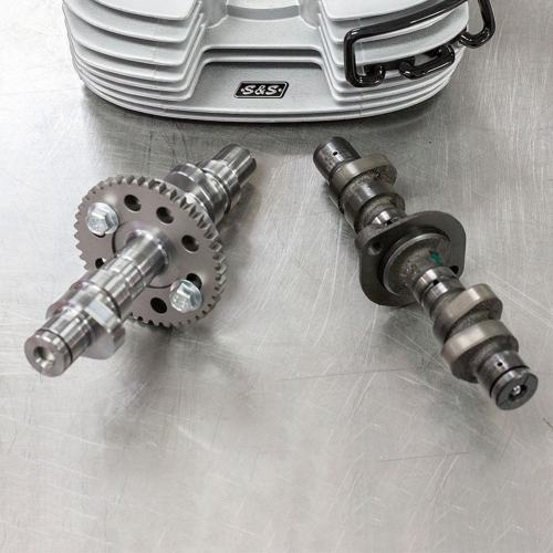 S&S High-Performance Camshaft Kit with Shims for Royal Enfield 650 Twins