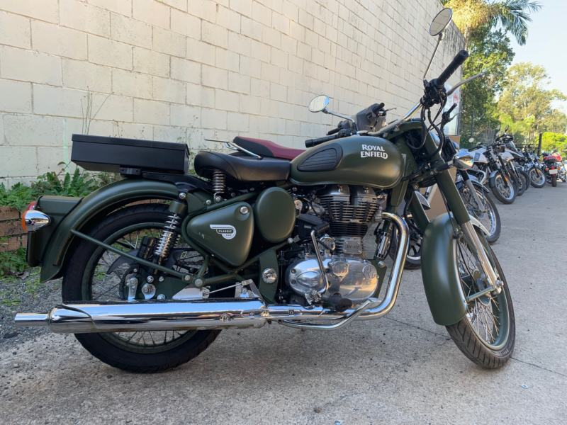 Royal Enfield Classic 500 Battle Green 2017 - Used Motorcycle $5,990 Rideaway