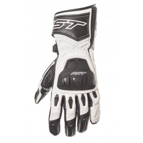 RST R-16 Sport Leather Glove Black/White