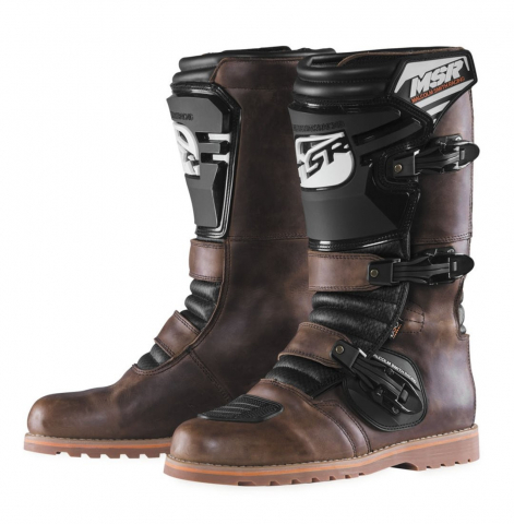 MSR Dual Sport Boot Oiled Leather Brown