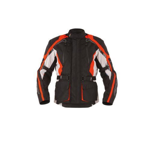 RST Rallye Textile Jacket Black/Flou Red