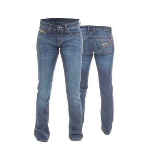 RST Ladies Straight Leg Kevlar Jean Blue