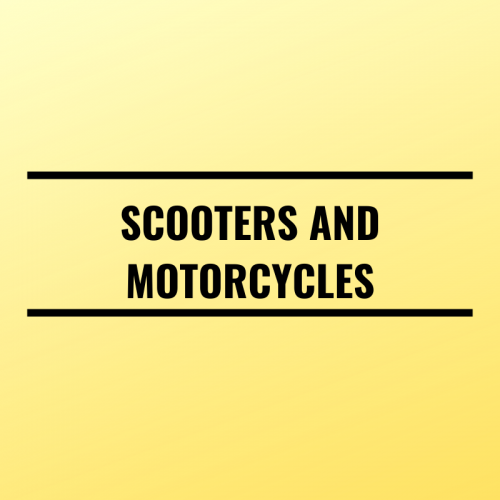 Scooters and Motorcycles