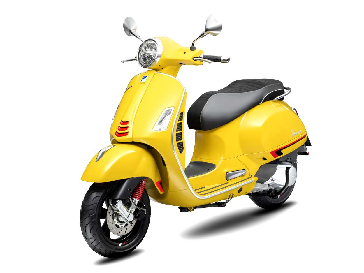 Vespa Gts 300 Super Sport Hpe Giallo Sole Yellow Scooter Style Noosa Motorcycles