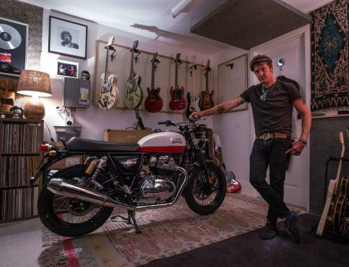 Aussie Rock Legend's New Release:  Chris Cheney and Royal Enfield
