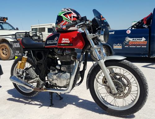 Royal Enfield Takes Home the Trophy at DTRA Flat Track 2021